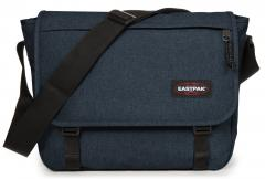 Collegetasche blau Delegate Eastpak Laptopfach Triple Denim