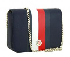 Crossbody Bag Tommy Hilfiger Honey Corporate Stripes blau Kette