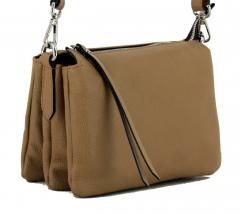 Crossovertasche Gianni Chiarini Three Cappuccino hellbraun