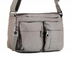 Crossovertasche Mandarina Duck MD20 Zipfächer taupe metallic