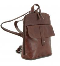 Damenrucksack The Hunting People Illaria Cognac braun