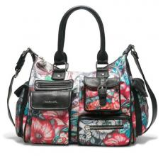 Desigual Henkeltasche Yandi London Medium Blumen