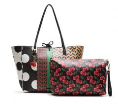Desigual Wendetasche Shopper Capri Lola Patch
