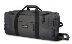 Eastpak Leatherface M Sporttasche mit Rädern Dot Grey