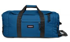 Eastpak Leatherface M Urban Blue Rollenreisetasche blau
