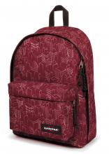 Eastpak Out Of Office Rucksack Merlot Blocks Rot