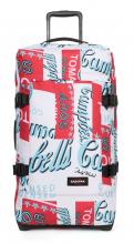 Eastpak Trolley Tranverz M Tomato Andy Warhol weiß rot Dose