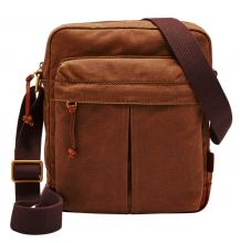 Fossil Defender NS City Messenger Umhängetasche Brown
