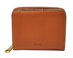 Fossil Geldbörse Emma Mini RFID Protection Brown Braun