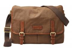 Fossil Graham Messenger Umhängetasche Brown Braun