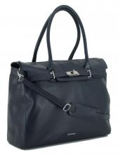 GiGi Fratelli Businesstasche Leder Navy Blau