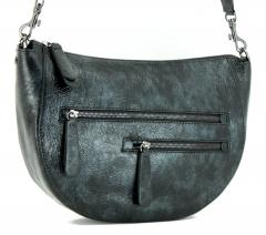 Gianni Chiarini Erin Nero Crossovertasche Knitterlook schwarz
