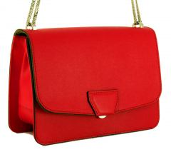 Gianni Chiarini Schultertasche Kette Rot Holiday