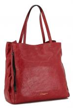 Handtasche Gianni Chiarini Twin Ceralacca Leder Vintage rot