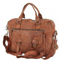 Harbour 2nd Businesstasche Antares Cognac Vintage Leder