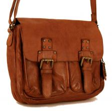 Harbour 2nd Crossover Leana Ledertasche Cognac