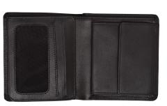 Herrenportemonnaie Golden Head Polo RFID schwarz Nappaleder
