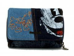 16d61d7ac0bb2 Jeansgeldbörse Maria Mini Desigual Exotic Mickey Denim blau