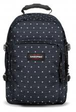 Laptoprucksack Eastpak Provider Little Dot dunkelblau Punkte