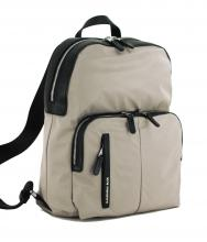 Laptoprucksack Hunter Simply Taupe Mandarina Duck grau