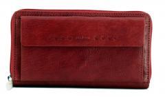 961cd061e0831 Ledergeldbörse dunkelrot Maitre kappeln Dietrun Purse dark red