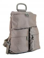 MD20 Backpack Mandarina Duck Damenrucksack Taupe metallic
