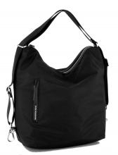 Mandarina Duck Hunter Schultertasche Gurt Nylon Black