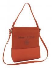 Marc O'Polo Schultertasche Stoff Canvas dusty pink coral