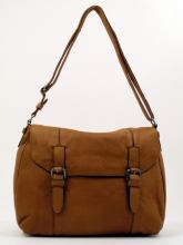 Marc O`Polo Post Bag L Soft Lamb light cognac