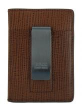 Moneyclip Hugo Boss Timeless Money Kartenetui braun
