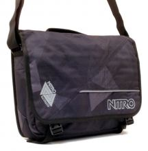 Nitro Collegetasche Evidence Bag fragments black