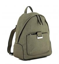 Rucksack Khaki olivgrau Be Different Gerry Weber strukturiert