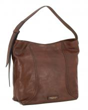 Schultertasche Pienza marrone The Bridge dunkelbraun Retrolook