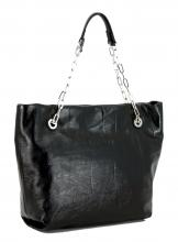 Shopper Gianni Chiarini Alice Nero schwarz Lackleder