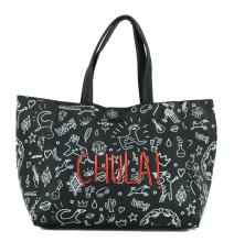 Tote Bag Desigual Chula Unexpected schwarz Print