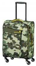 Travelite Kite Bordgepäck Trolley 54 cm Camouflage grün