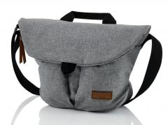 Travelite Messenger-Bag Grau