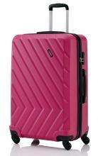 Travelite Quick 4-Rad Koffer Hartschale M 64cm Pink