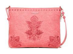 c258571c14ddb Umhängetasche Desigual Bols Soft Mendhi Molina Bubblegum pink