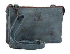 e5ce34adb9da17 bear bags Umhängetasche Leder graublau Grizzly Grey
