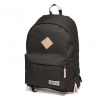 Eastpak Out of Office Laptoprucksack mit Leder schwarz
