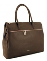 GiGi Fratelli Ledertasche Aktentasche Smoke Grau