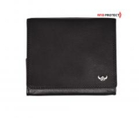 Golden Head Polo RFID Protect black schwarz Geldtasche