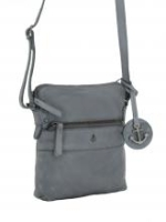 Denim Crossbody Bag Harbour2nd Anchor Love grau Taliza