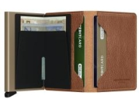 Secrid Slimwallet Geldbörse RFID Vegetable Caramello Sand
