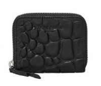 Liebeskind Etui Zip Leder DotW7 Big Croco Oil Black
