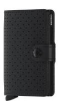 Miniwallet Kartenetui Perforated Black schwarz gelocht Secrid
