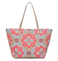 Patchworkshopper Capri Zipper Desigual Mary Jackson Coral