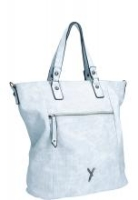 Suri Frey Romy Shoppertasche gestanztes Lochmuster light blue