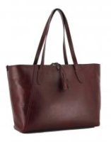 The Bridge Shopper Florentin Rosso Rubino weinrot bordeaux